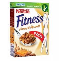 Nestle Fitness Μέλι & Αμύγδαλα 355 gr
